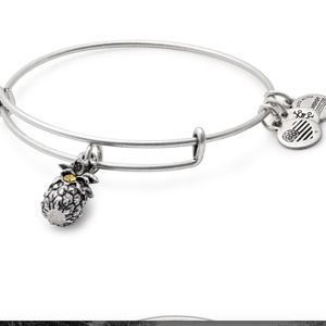 ALEX AND ANI Pineapple Charm Bangle